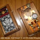 "eCog Aeneas SGS6 for Samsung Galaxy S6: Steampunk case "" Boilerplate Ed."" (Made to Order: 4 wks)"