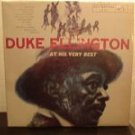 """DUKE ELLINGTON AT HIS VERY BEST"" LP RCA CHILE JAZZ TOP"