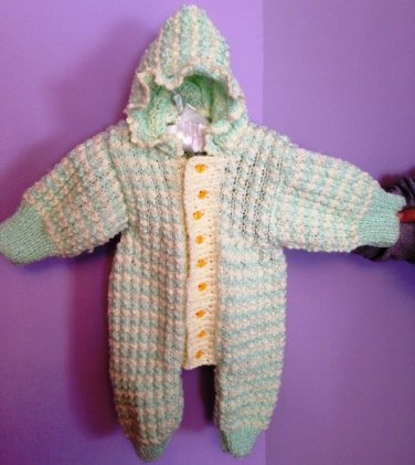 PATTERN - Baby Jumpsuit for Fall