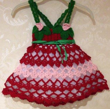 Strawberry Dress for girls