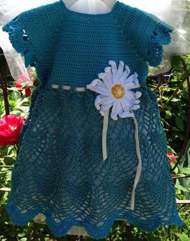 PATTERN - Blue Dress for girls