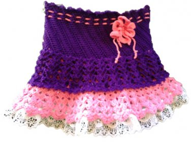 Purple baby Skirt