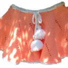 PATTERN - knitted Peach Skirt for girls