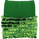 PATTERN - Green Ruffle Skirt for Girls