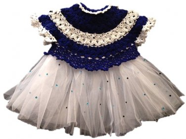 PATTERN - Blue baby Dress