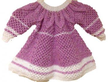PATTERN - Lavender toddler Dress