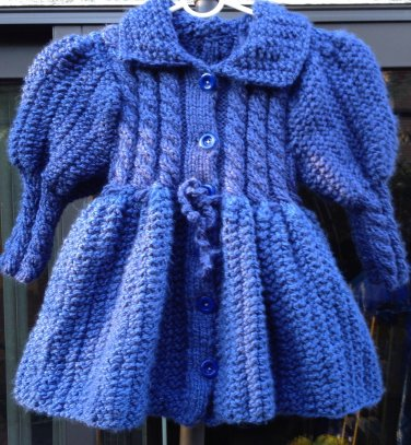 Blue Coat for Girls