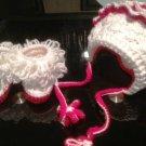 White Fantasy Baby Hat