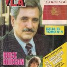 ROCK HUDSON chilean magazine VEA 1985