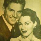 MARIA MONTEZ JEAN PIERRE AUMONT chilean mag ECRAN 1949