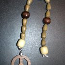 Power of Three Peace Prayer Beads