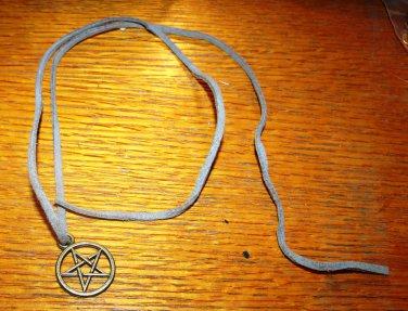 Suede Necklace or Head Piece