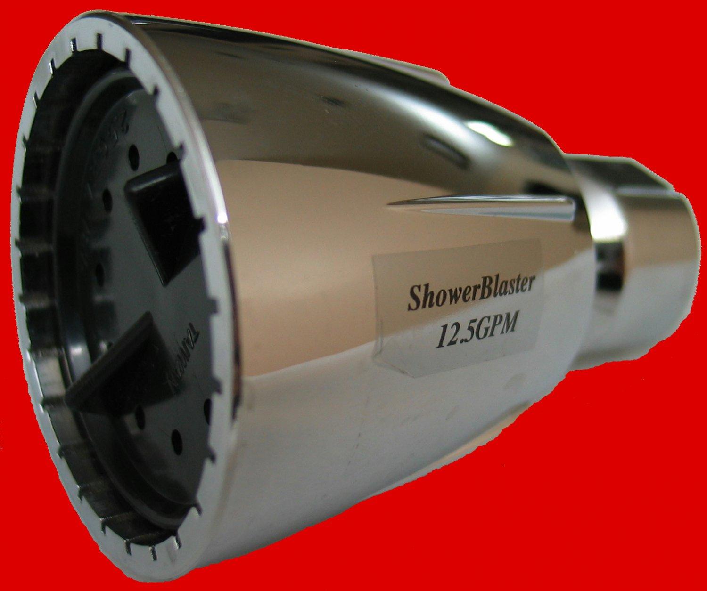 SHOWERBLASTER ULTRA HIGH PRESSURE SHOWERHEAD -  OVER 12.5 GPM