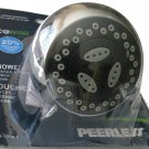 PEERLESS SHOWER BLASTER MASSAGE CHROME SHOWER HEAD - A SHOWERBLASTER EXCLUSIVE