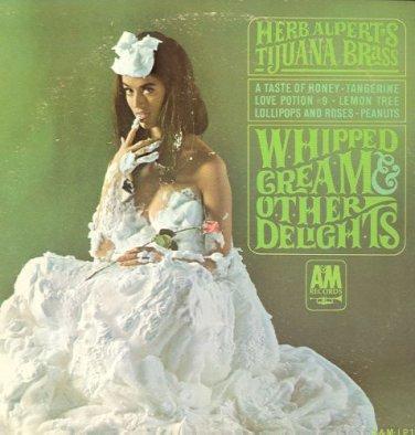 HERB ALPERT'S TIJUANA BRASS - Whipped Cream & Other Delights - 1965 LP (A&M Records - LP-110)