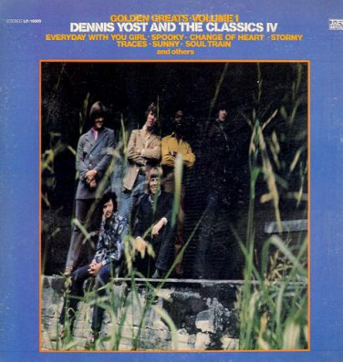 DENNIS YOST AND THE CLASSICS IV - Golden Greats Volume I - 1969 LP (Imperial - LP-16000)