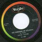 CHUCK TAYLOR - The Burning of Atlanta / The Road Runner - 45rpm Record