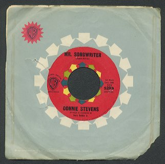 CONNIE STEVENS - Mr. Songwriter / I Couldn't Say No - 45rpm Record