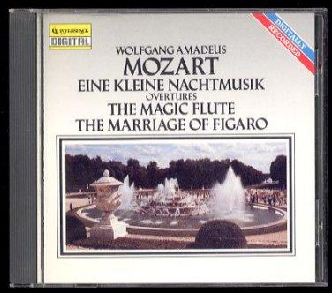 MOZART - Eine Kleine Nachtmusik - 1990 CD - Intersound, Inc. (CDQ 2024)