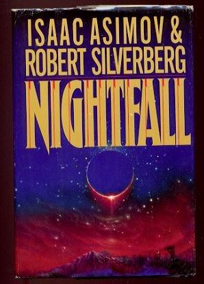 NIGHTFALL by Isaac Asimov & Robert Silverberg - 1990 (Hardcover)