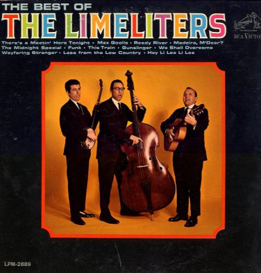 THE LIMELITERS - The Best Of The Limeliters - 1964 LP (RCA Victor - LPM-2889)