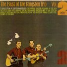 KINGSTON TRIO - Best of the Kingston Trio - Vol. 2 - 1965 LP (Capitol - T 2280)