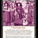 SIDESADDLE - Saratoga Gap - 1985 Cassette (Faultline Records - 6885)
