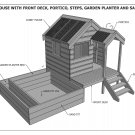 CUBBY HOUSE & SAND PIT COMBO - Build With Your Children - Full Building Plans V1