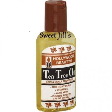 Hollywood Beauty Tea Tree Oil Skin & Scalp Treatment 2oz (EC0278)