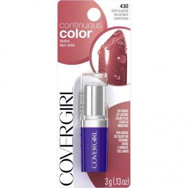 Cover Girl Continuous Color Lipstick 430 Bistro Burgundy (EC599-106)