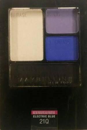 Maybelline Expert Wear Eyeshadow Quad 21Q Electric Blue (EC799-106)