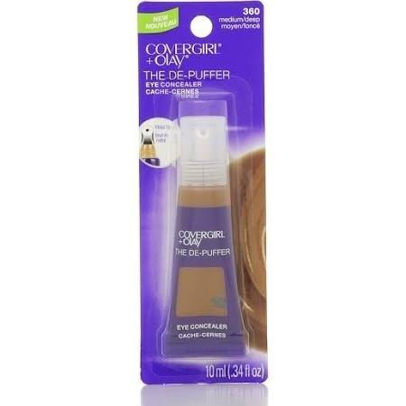 Cover Girl + Olay The DE-PUFFER Eye Concealer 360 Medium/Deep .34oz (EC624-106)