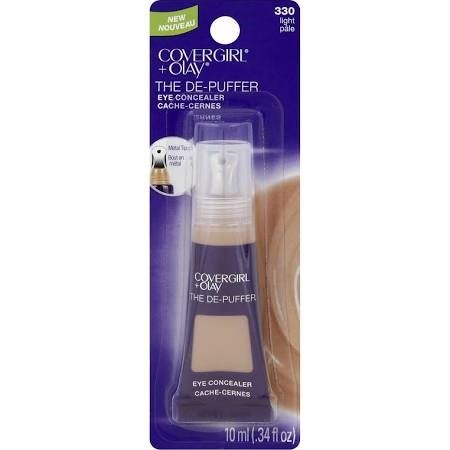 Cover Girl + Olay The DE-PUFFER Eye Concealer 330 Light .34oz (EC624-106)