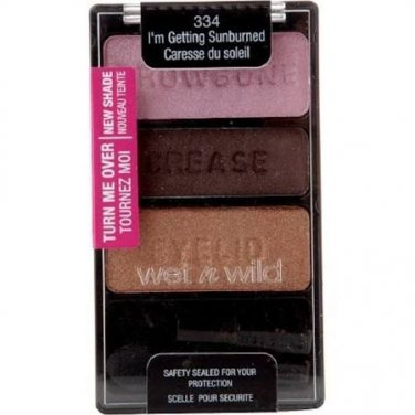 Wet N Wild Color Icon Eyeshadow Trio 334 I'm Getting Sunburned .12oz (EC7990106)