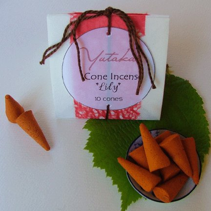 Cone Incense set