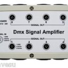 USA SHIP 8 Channel Output DMX DMX512 LED Controller Signal Amplifier Splitter