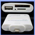 iPad Mini 4 Camera Connection Kit 8 Pin USB 5 In 1 SD Card Reader TF Adapter USA