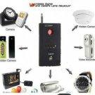 US Anti-Spy GSM Bug GPS Camera Lens RF Signal Detector Finder Bluetooth Pin Hole