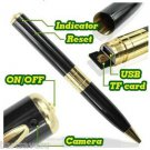 USA Mini Spy Pen HD Video Hidden Camera 4GB Micro SD Camcorder 1280 X 960 DVR