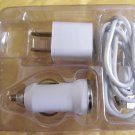 Auto Charger ANDROID GALAXY S3 S SIII  Micro USB LOT WALL AC Car Vehicle Adapter