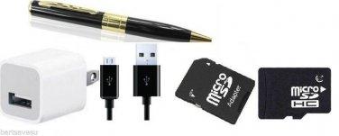 Mini Camera Spy Pen  Hidden DVR Camera Camcorder Recorder 1280x960 supports 16gb