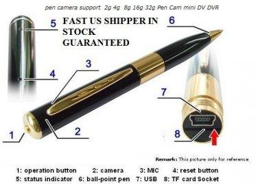HOT Sale Mini Spy Pen Camera Video Camcorder Cam Recorder DVR Hidden DVR HD USB