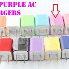 50 PCS AC HOME WALL PLUG USB CHARGER   iPHONE ANDROID 5V 1A 1000mAh MIXD COLOR