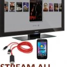 MHL Micro USB to HDMI TV AV HDTV Adapter Cable For Galaxy S3/S4/Note 2 LOT USA