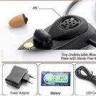 spy earpiece small mini bluetooth invisible wireless micro nano earphone underco