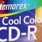 4 Memorex Cool Colors CD-R Discs