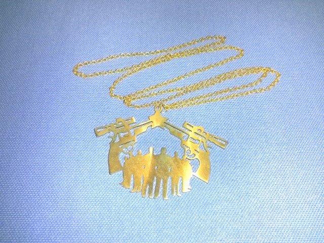 Necklace brass
