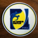 MY GAME IS FAIR PLAY INTERNATIONAL FOOTBALL PATCH BADGE PARCHE LOGO TOPPA