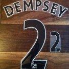 CLINT DEMPSEY 11 TOTTENHAM HOME 2013 2014 NAME NUMBER SET NAMESET KIT PRINT