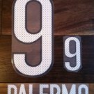 MARTIN PALERMO 9 BOCA JUNIORS 2013 2014 NAME NUMBER SET NAMESET KIT PRINT